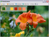 Screenshot of photo schemer