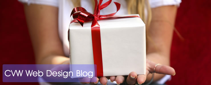 CVW Web Design Blog - Hands With Present
