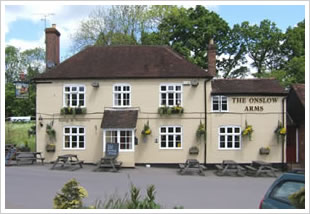 The Onslow Arms in Loxwood, West Sussex
