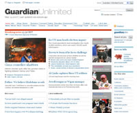 Guardian Unlimited screenshot